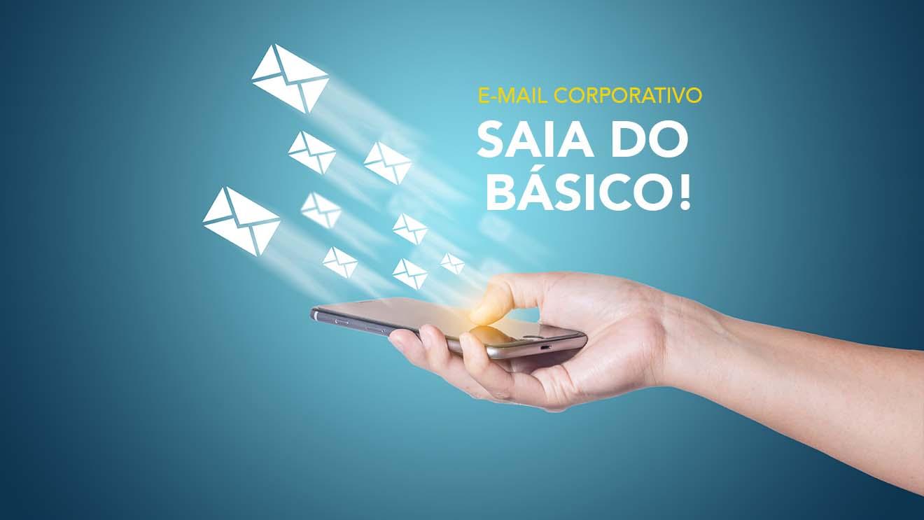 E mail Corporativo consiga mais com uma experiência avançada e profissional